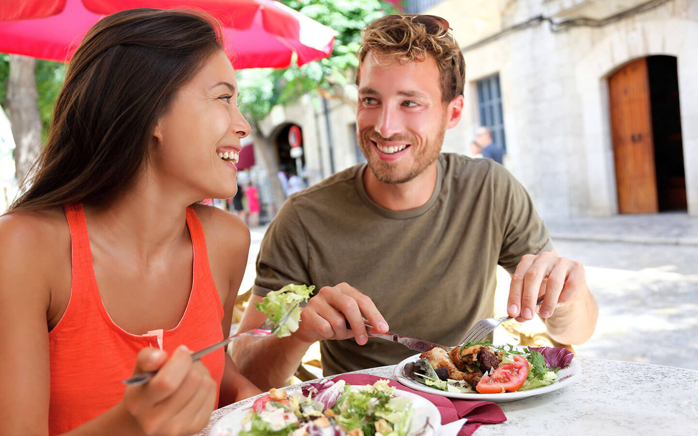 Dining Outdoors in Carmel, CA