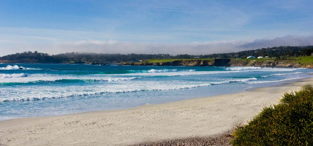 Beach and Ocean in Carmel - Pet Friendly Dog Hotel