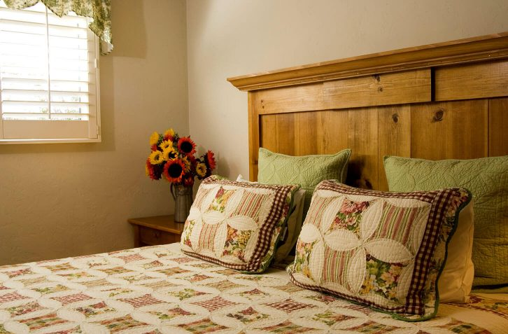 Charming decor and cozy accommodations at our Carmel bed and breakfast