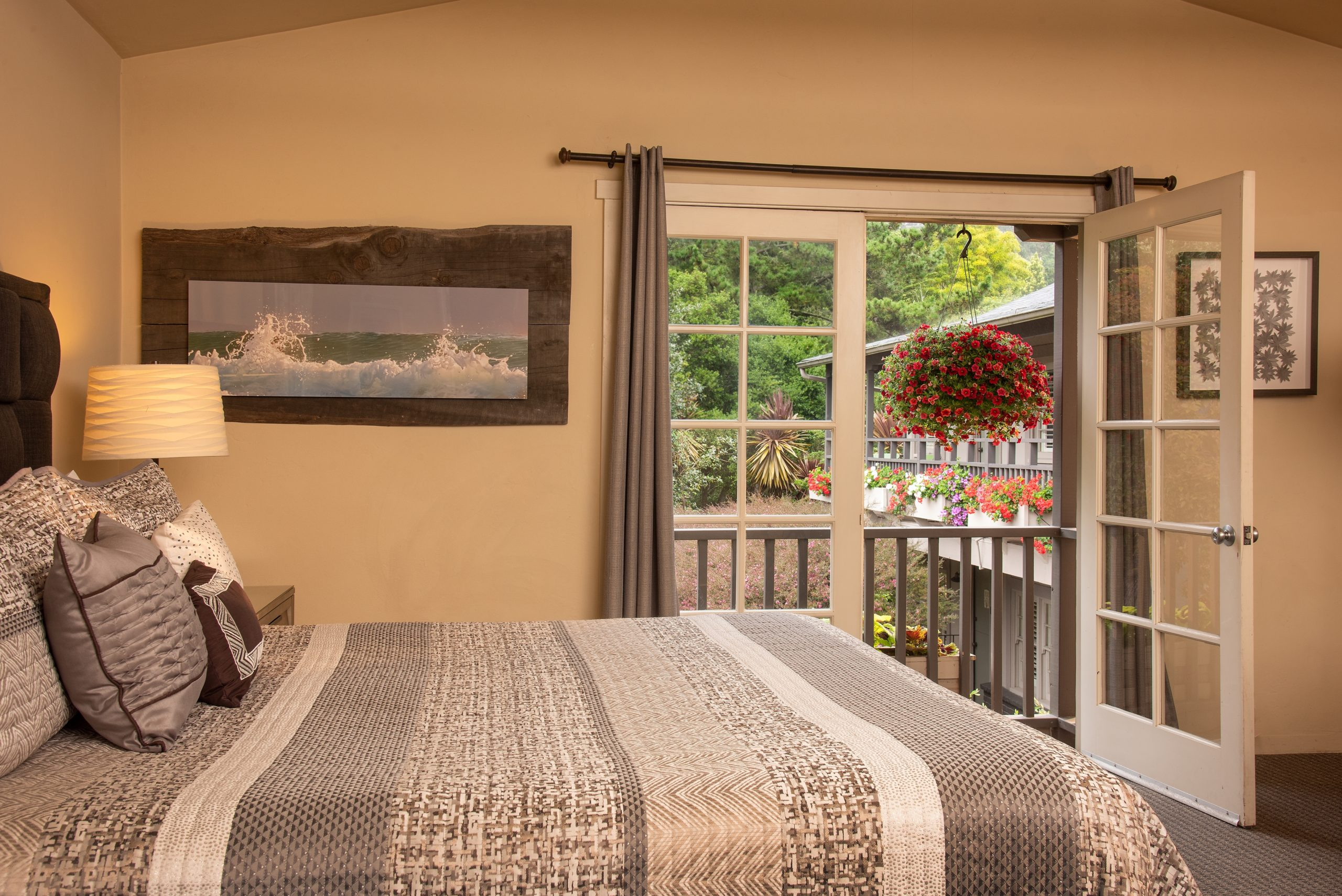 Luxury Rooms in our Carmel bed and breakfast