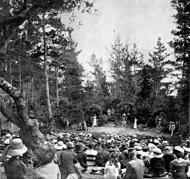 Forest Theatre from 1916
