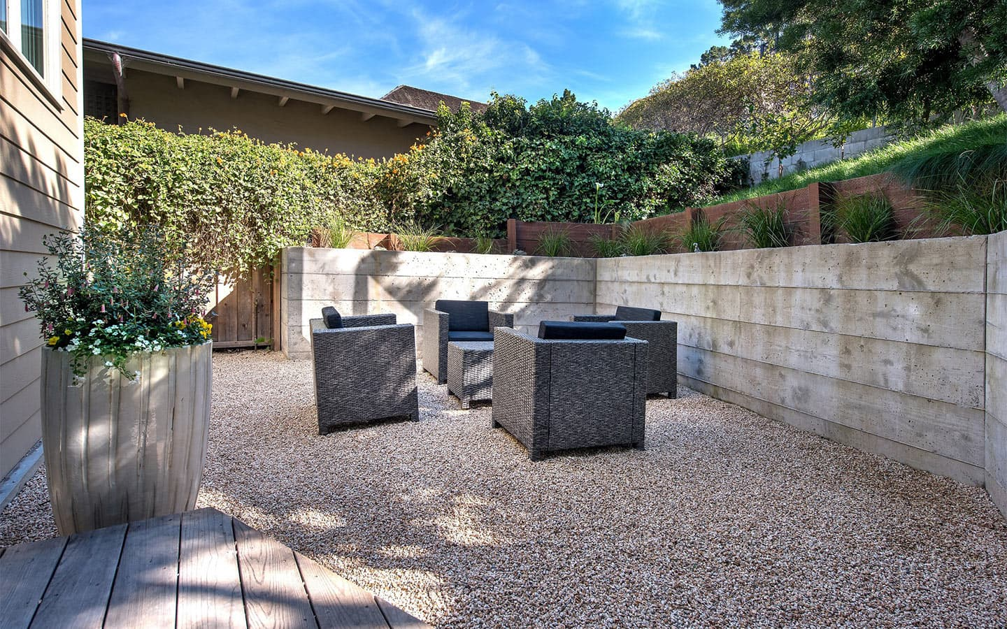 View of Outdoor Patio at Carmel Stonehouse