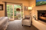 Stunning views from a spacious suite at our Carmel inn