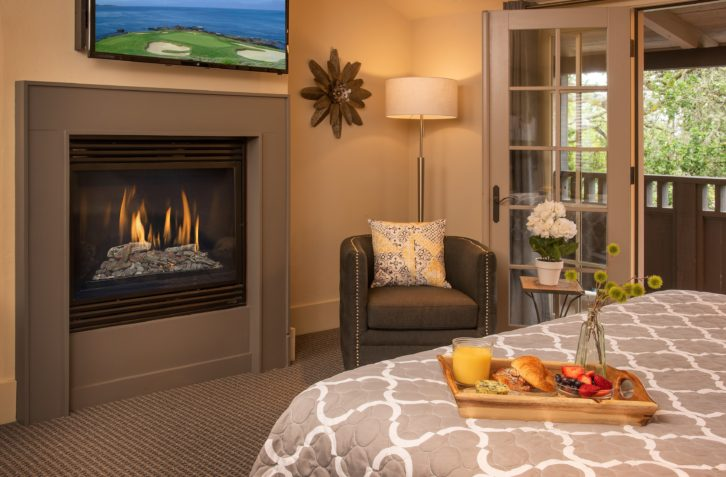 Have breakfast delivered to your suite at our top Carmel bed and breakfast
